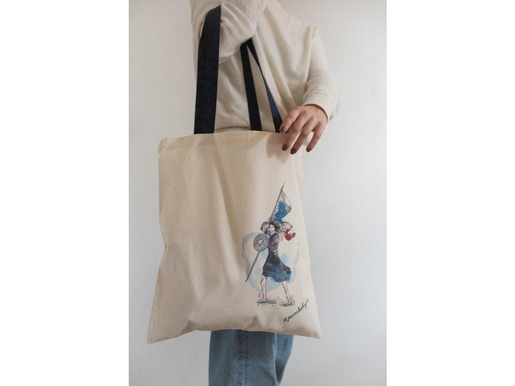 Látková taška Libuše