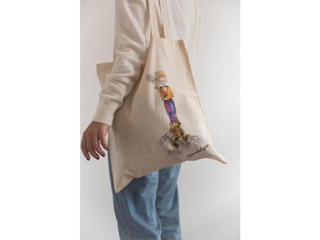 Látková taška Mokoš