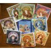 Circular Seasons Goddess Card Set