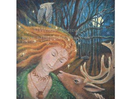 Lesní dívka