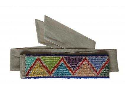 Tkaný pás - tanec barev