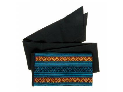 Tkaný pás - královsky modrý