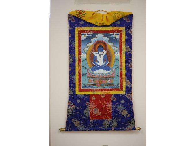 Velká chrámová thangka yam yum