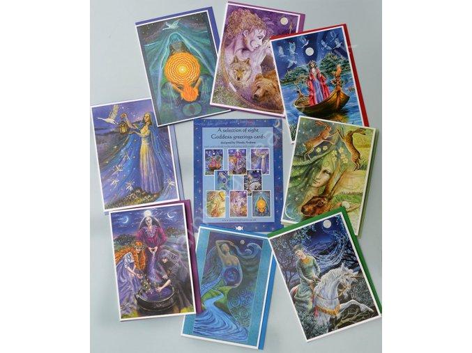 Goddess Card Set