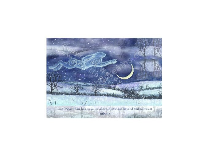 Luna Moon Hare at Imbolc