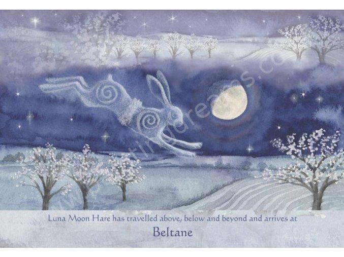 Luna Moon Hare at Beltane
