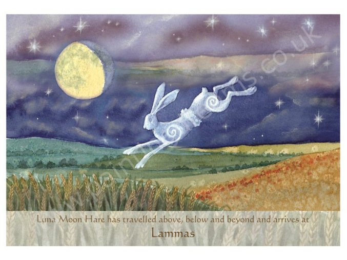 Luna Moon Hare at Lammas