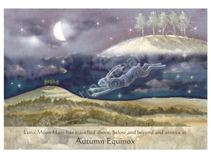 Luna Moon Hare at Autumn Equinox