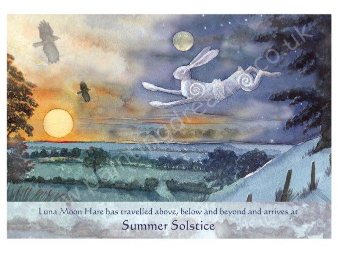 Luna Moon Hare at Summer Solstice