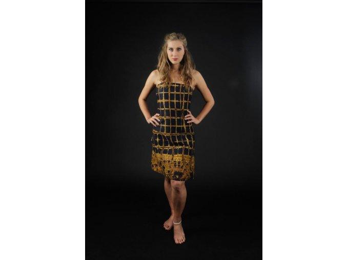 Šaty Africká batika