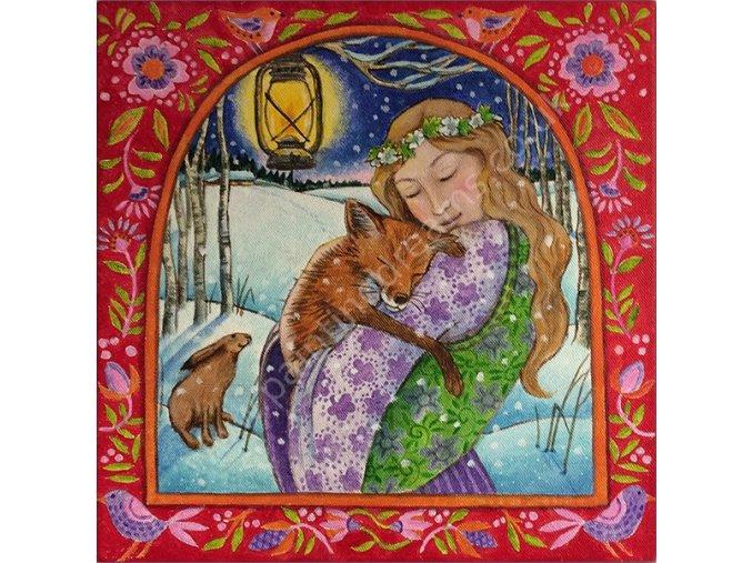 folksy fox love