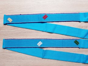 Tkaný pás - červený